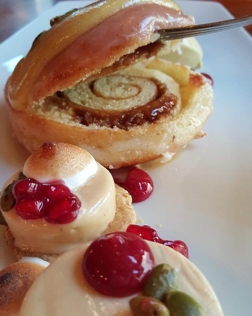 Where Can You Get a Cinnamon Roll Doughnut?