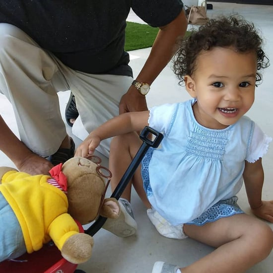John Legend Photo of Luna With Arthur Doll June 2018