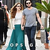 Kit Harington and Rose Leslie Dating January 2016