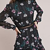 Donna Morgan High-Neck Floral Dress