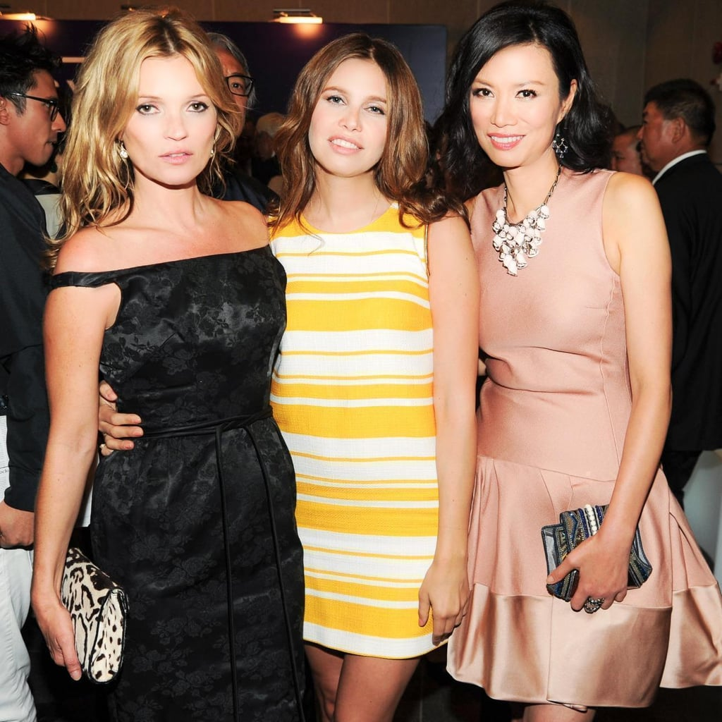 Kate Moss, Dasha Zhoukova, and Wendi Murdoch at a dinner hosted by Georg Jensen and Dior in Hong Kong. Source: Billy Farrell/BFAnyc.com