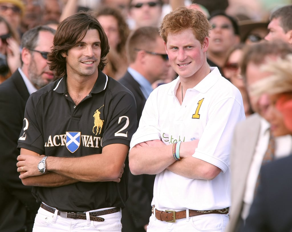 Professional polo player Nacho Figueras and Prince Harry attended the award ceremony following the Veuve Clicquot Manhattan Polo Classic in NYC in May 2009.