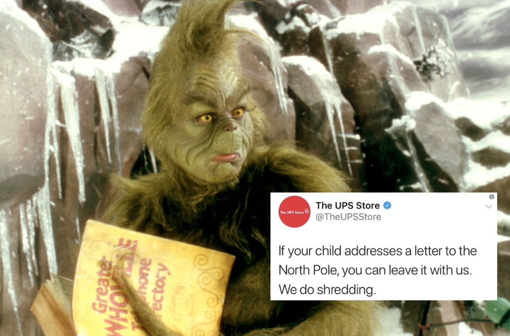 UPS Tweet Offers to Shred Kids' Santa Letters December 2018
