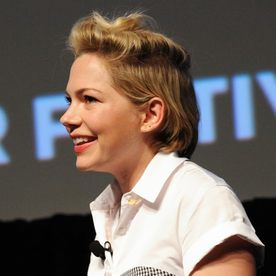 Michelle Williams Growing Out Her Pixie | Pictures