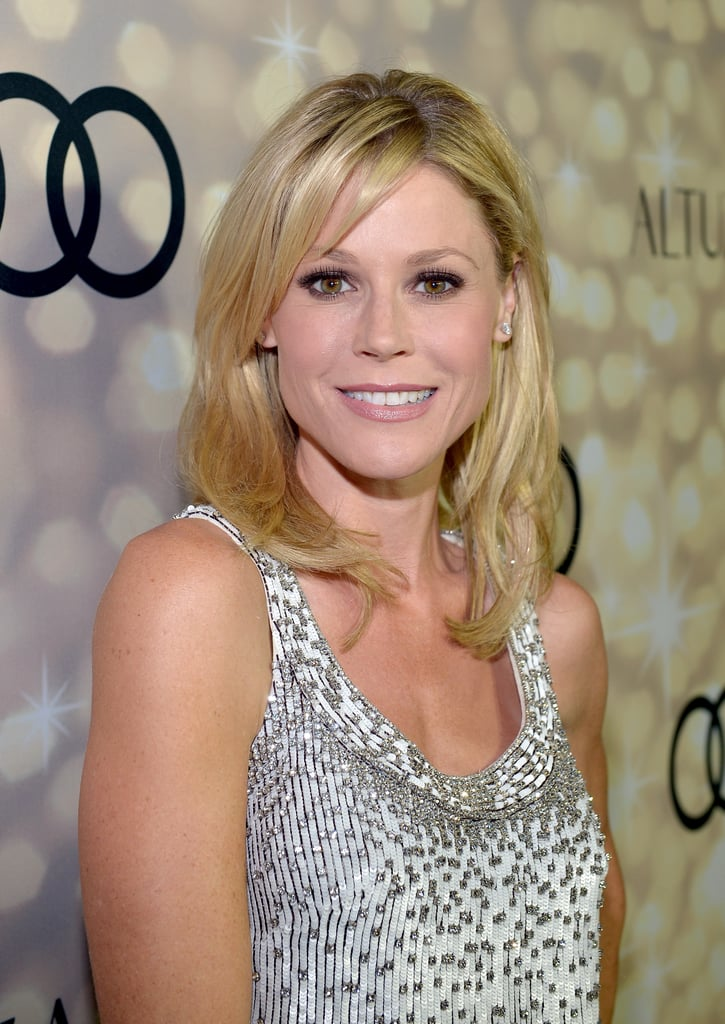 We loved Julie Bowen's signature blond waves and liner look at the Audi and Altuzarra Kick-Off Party.