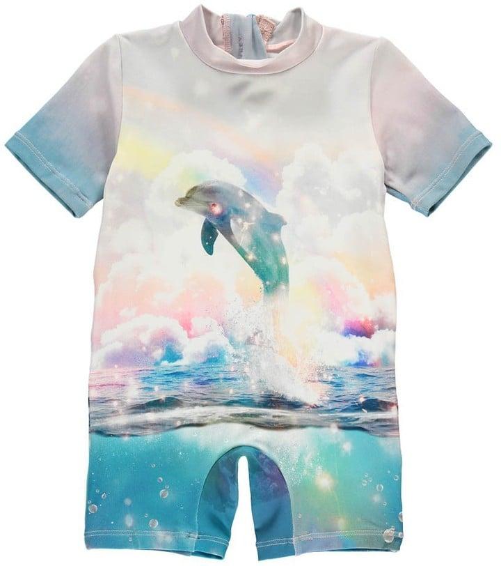 Stella McCartney Sonny Dolphin Swimming Onesie ($90)
