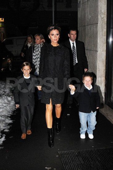 Celebaby Style: The Beckham Boys