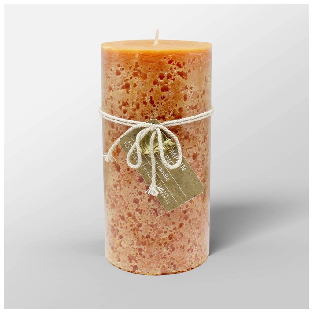 Pumpkin Spice Cold Pour Pillar Candle