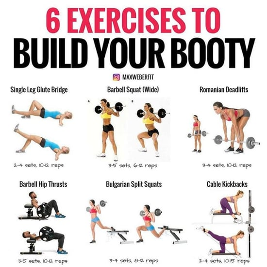 Best Exercises For Booty Gains