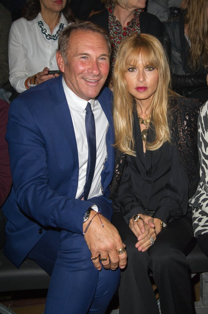 Rachel Zoe took a front row seat at the Lanvin show.