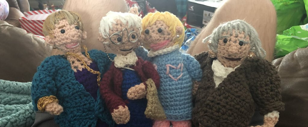 This Mom Crocheted Her Son Doll Versions of the Golden Girls and We're Not Worthy