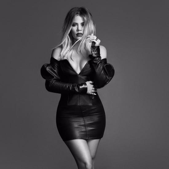 Khloe Kardashian Pregnant in Good American Campaign