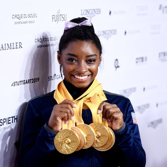 Simone Biles Wins 2019 Female Olympic Athlete of the Year