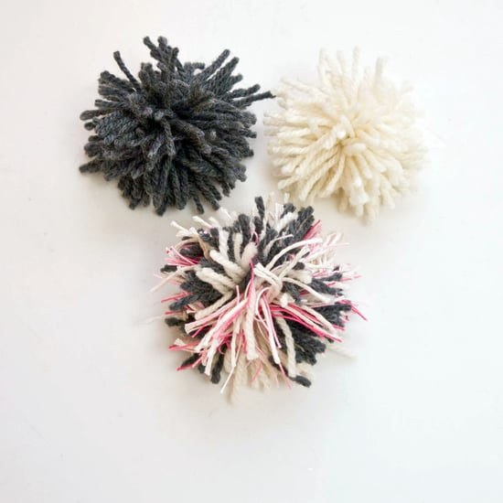 DIY Cat Toy Pom-Poms