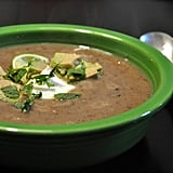 This rich black bean and sweet potato soup can be made vegan; add a dollop of dairy-free yogurt or avocado for some extra creaminess.