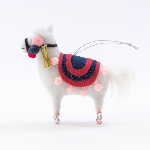 Llama Christmas Decorations.Lc Lauren Conrad Llama Christmas Ornament Give Your