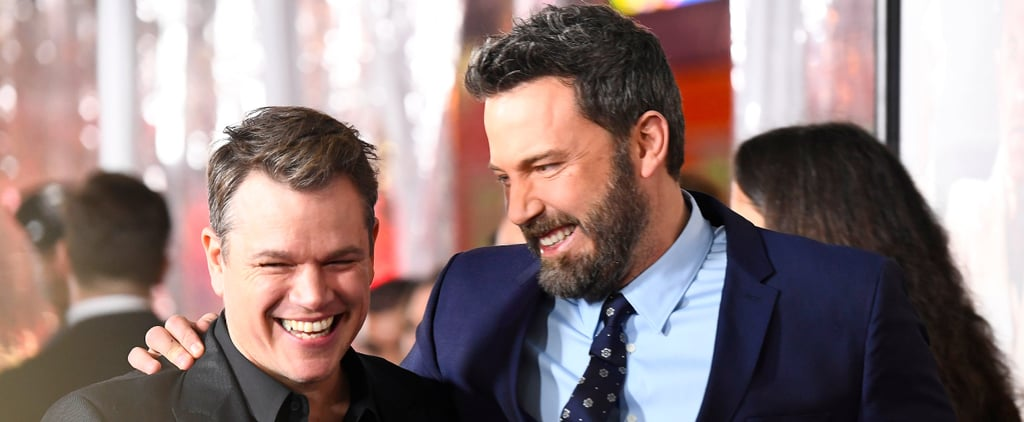 Just Look at How Happy Matt Damon and Ben Affleck Are Together