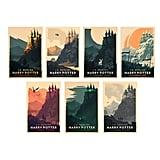 Full Set of Harry Potter Poster ($275)