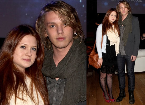 Photos of Bonnie Wright and Jamie Campbell-Bower At BAFTA Screening Event with Bill Nighy, George Lamb and Edith Bowman