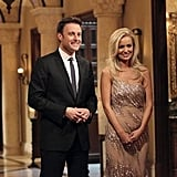 Chris Harrison and Emily Maynard on The Bachelorette.