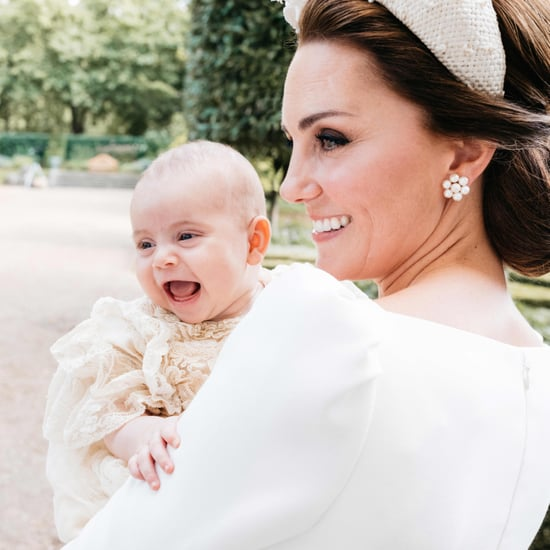 Prince Louis Laughing Christening Photo