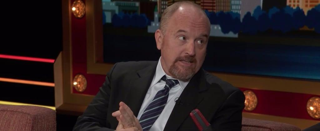 Louis C.K. Endorses Hillary Clinton on Conan