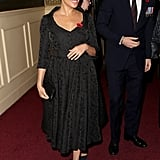 Meghan Markle's Black Dress at Festival of Remembrance