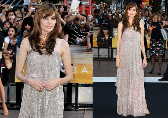 Pictures of Angelina Jolie at the UK Premiere of Salt