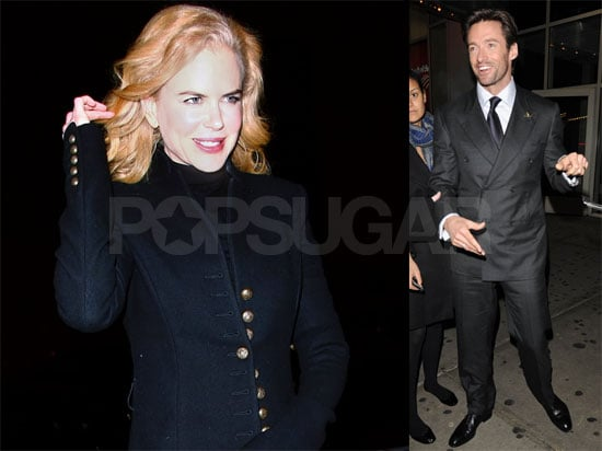 Photos of Nicole Kidman and Hugh Jackman in NYC, Quotes From Nicole Talking About Tennessee and Sunday