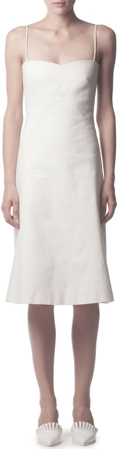 Acne Studios White Dress