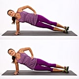 Side Plank Dips (Right Side)
