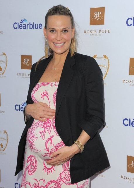 Molly Sims's Sophisticated Statement