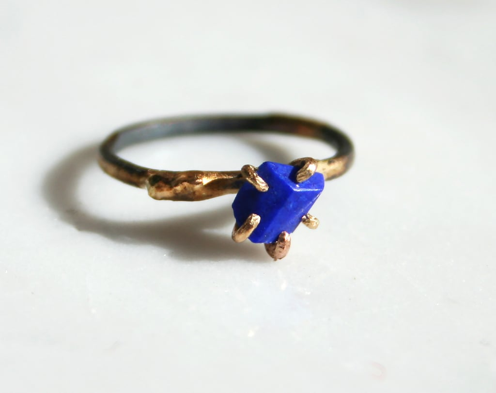 Variance Objects Lapis Ring (from $246)