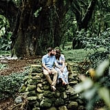 Hawaiian Jungle Engagement Shoot