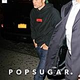 Robert Pattinson Out in NYC at Night