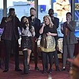 "Pentatonix Kelly Clarkson ""My Grown Up Christmas List"" Video | POPSUGAR Entertainment"