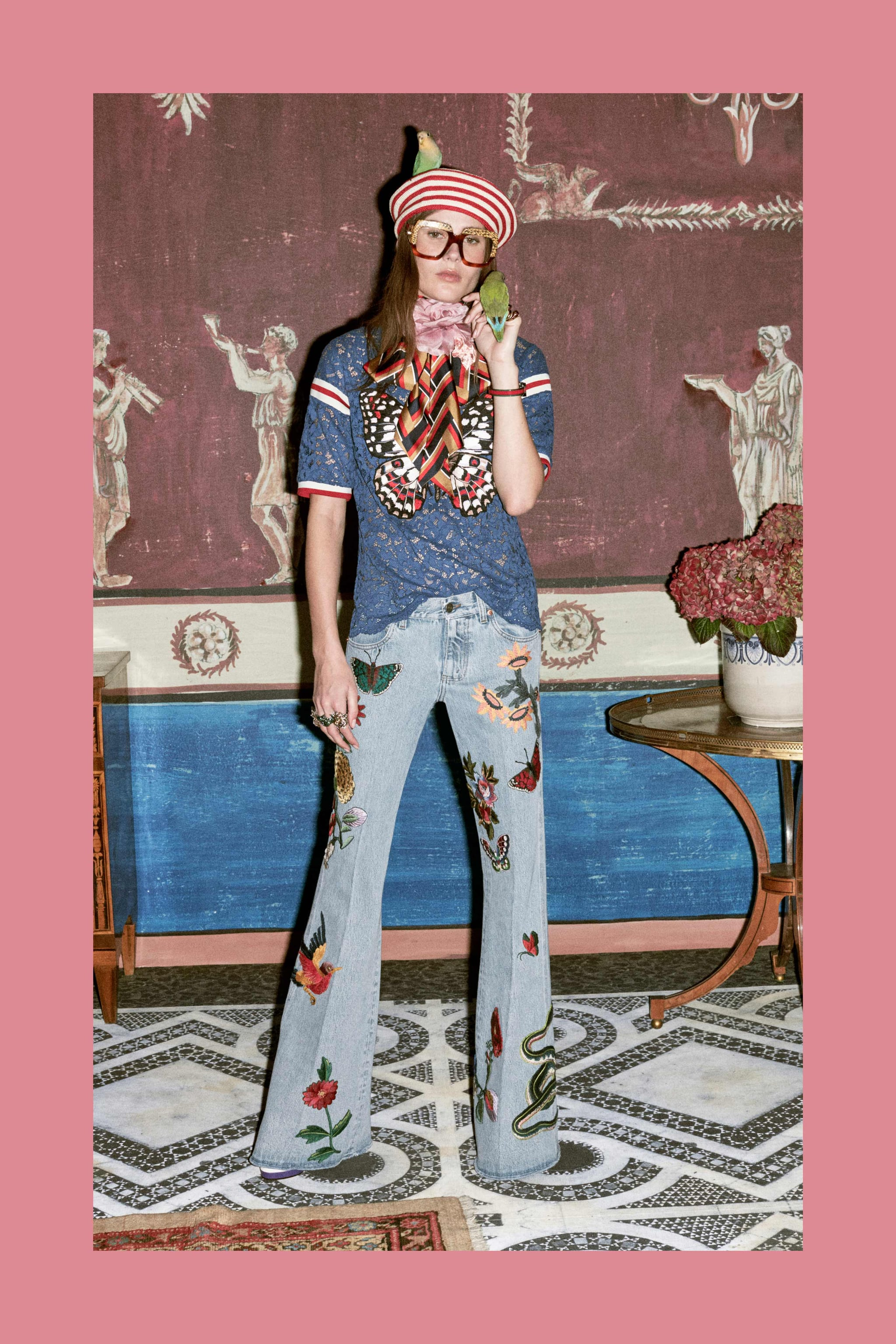 The Genius Jeans Made the Guinness World Records Book in 1998   19 Totally  Gucci Facts About Everyone's Favorite Brand   POPSUGAR Fashion Photo 11