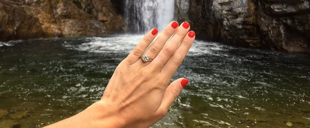 Harley Viera-Newton's Engagement Ring