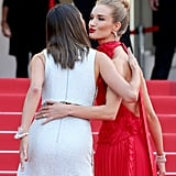 Alessandra Ambrosio and Rosie Huntington-Whiteley