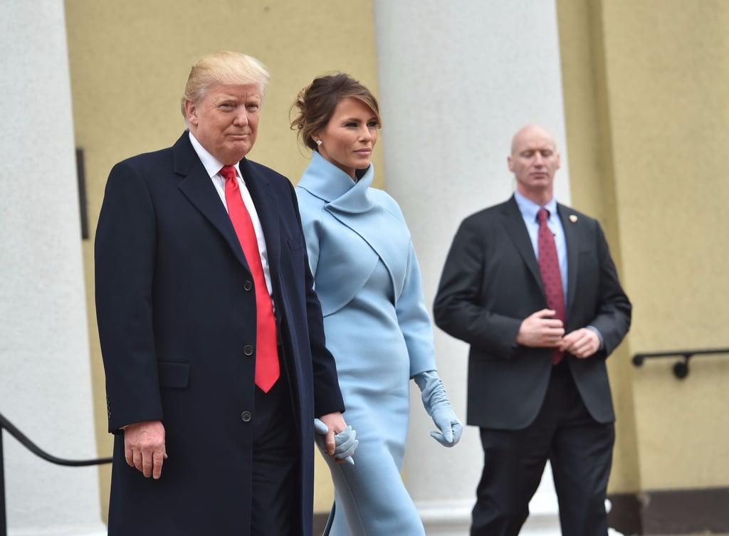 Melania Trump Inauguration Outfits