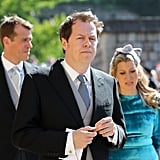 Tom Parker Bowles at the Wedding of Prince Harry and Meghan Markle (2018)