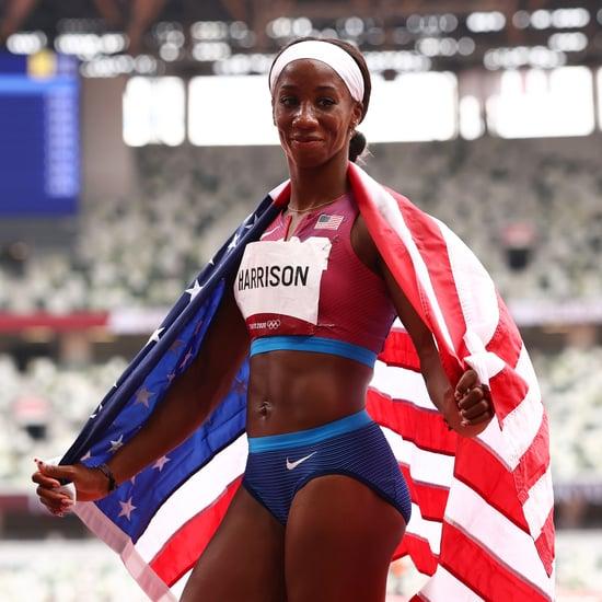 Kendra Harrison Wins Silver in 100m Hurdles in 2021 Olympics