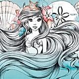 Little Mermaid Print Poster