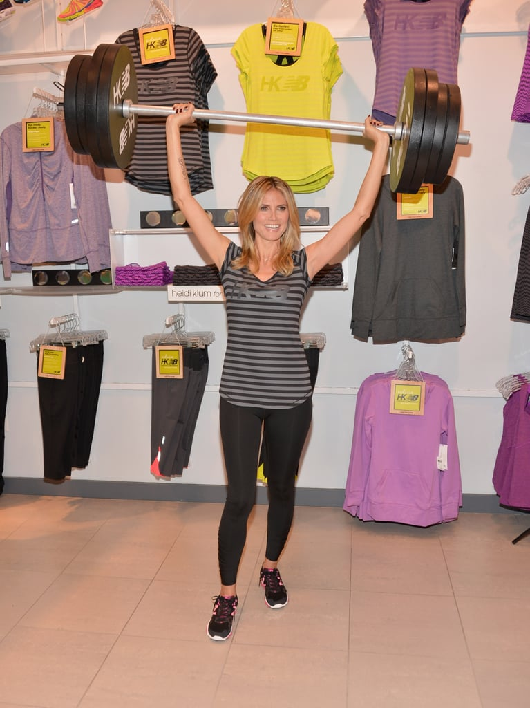 """Heidi Klum on Her """"Hard"""" New Role on America's Got Talent and Looking Cute at the Gym"""