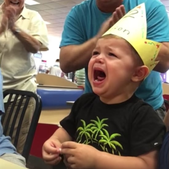 Toddler Cries Through His Second Birthday Party