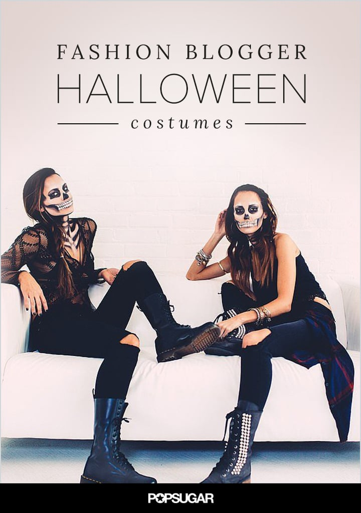 Your Favorite Bloggers' Halloween Costumes Are Their Best #OOTDs