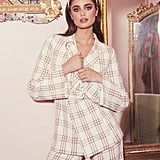 Taylor Hill x Boohoo Oversize Check Blazer With Removable Belt Bag