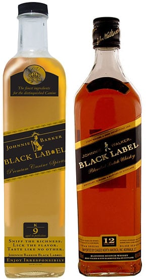 Johnnie Walker Black Label or Johnnie Barker Black Lab?