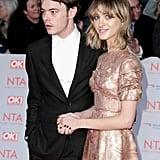 Natalia Dyer's Prada Dress at the National Television Awards