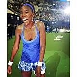 Pure joy for Venus Williams with another big win!